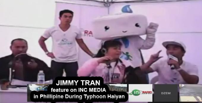 Jimmy Tran on INC Media during Typhoon Haiyan