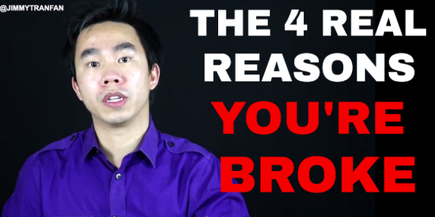 The 4 real reasons you are broke