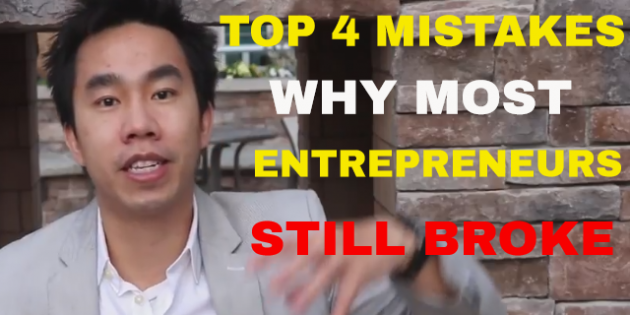 Top 4 mistakes why most entrepreneurs still broke_tn